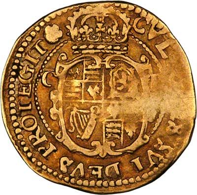 Reverse of Charles I Gold Crown