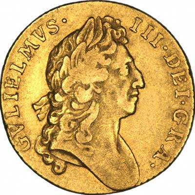 Obverse of William III Guinea