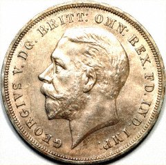 Obverse of 1935 Crown