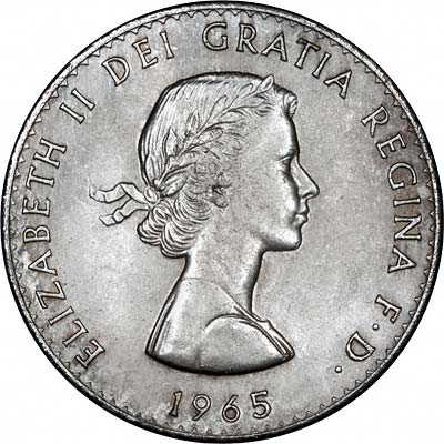 1955 Five Shilling Coin Value http://www.24carat.co.uk/1965crownframe.html