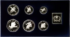 1977 Manx Silver Coin Set