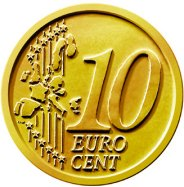 Common Reverse of the 10 Euro Cent Coin