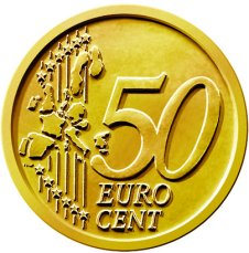Common Reverse of the 50 Euro Cent Coin